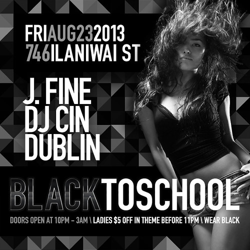 Black To School (Flyer)