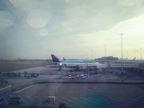 Amsterdam Schiphol with Delta plane