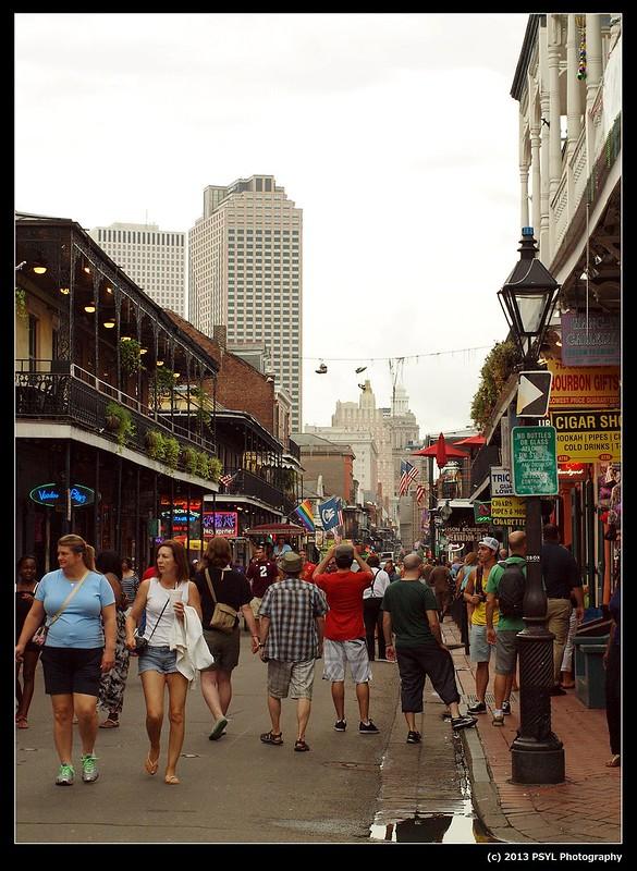 Infamous Bourbon Street
