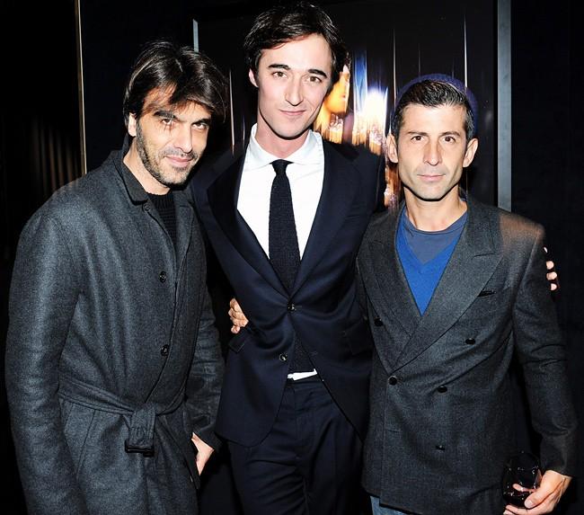 7 Olivier Lalanne @ Vogue Homme, Daniele Cavalli, Andrè Saraiva @ L'Officiel Homme