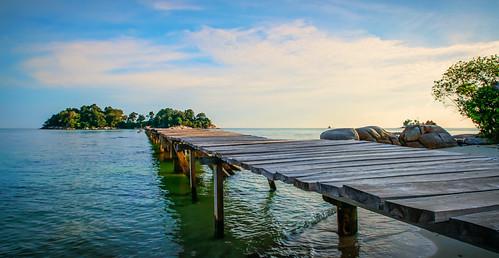 Berhala Island at Berhala Strait, Indonesia by Haryadi Be