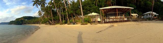 Maremegmeg Beach in El Nido, Palawan, Philippines