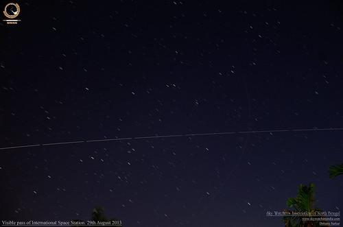 sky star swan space science telescope astrophotography astronomy iss celestial skywatchers skywatching debasis skywatcher