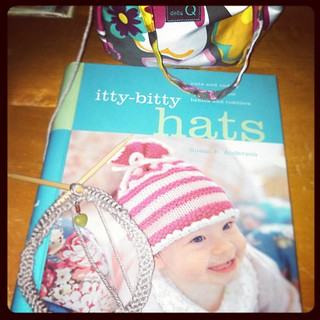 Forgot how great this book was until I went searching for a #babyhat #pattern that was NOT your ordinary hat... for a special baby girl #knitting #knitstagram