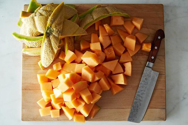 Roasted Cantaloupe from Food52