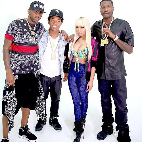 "New Music: Meek Mill Feat. Nicki Minaj, Fabolous & French Montana ""I Be On That"""