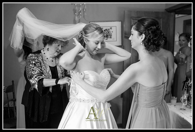 Rochester Geneva NY Wedding Photographer St Stephens Belhurst Castle Ceremony Reception