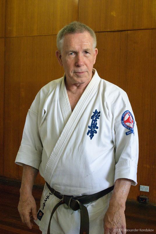 Kyokushin Karate Hanshi  John Taylor