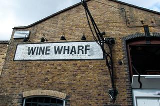 Whine Wharf bar