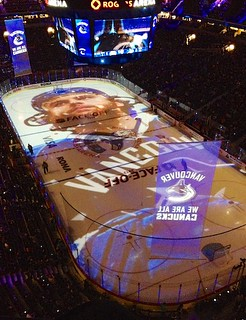 Canucks Home Opener