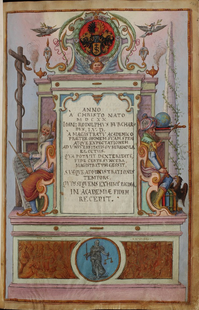 Basel, Universitätsbibliothek, AN II 4, p. 144r – Matriculation Register of the Rectorate of the University of Basel, Volume 2 (1586-1653)