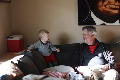 Felix and Grandpa Rick