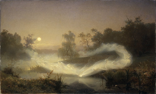 "August Malmström (Swedish, 1829 - 1901), ""Dancing Fairies"" (from Google Art Project)"