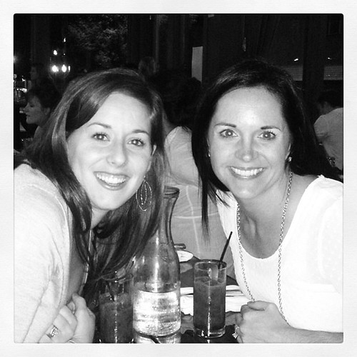 Such a treat to have dinner in Nashville with my college roommate!!!  15 years and still BFF's!  @kaceemcguigan