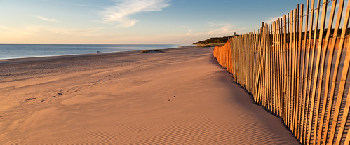 beach nature water fence sand michigan lakemichigan nm goldenhour muskegonstatepark northmuskegon