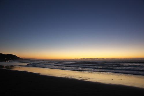 sea sky sunrise wave minamiboso