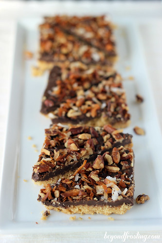 Toasted Pecan Shortbread Bark