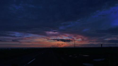 road sunset summer one 1 iceland south july ring 2013 þjóðvegur hringvegur