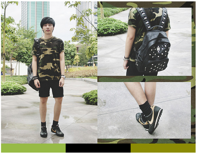 Lookbook.nu Tantris Backpack Punk Style Vote
