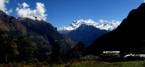 nepal trek landscape annapurna