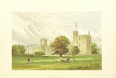 "British Library digitised image from page 48 of ""The Ancestral Homes of Britain; containing examples of its noblest castles, halls, and mansions. With ... coloured illustrations ... and biographical and historical notices"""