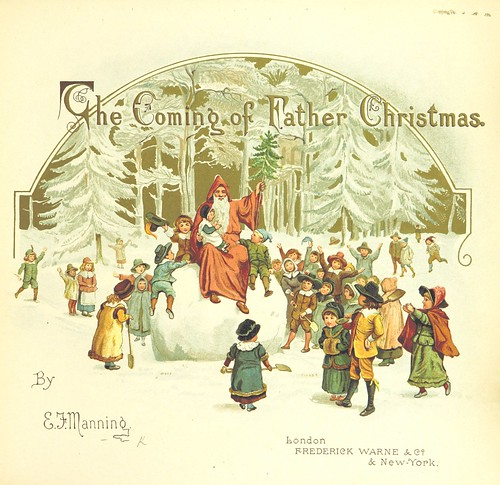 Image taken from page 7 of 'The Coming of Father Christmas' by The British Library