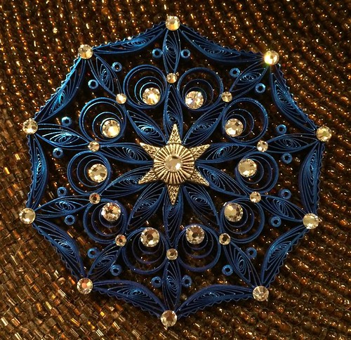 Quilled Mandala by Beth Reece