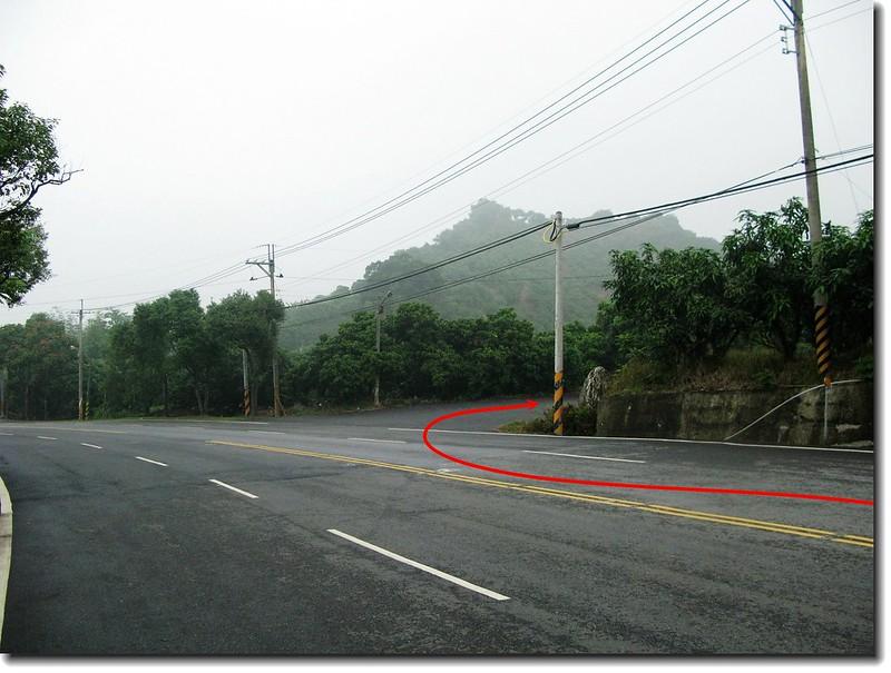 台南南化心仔寮山台3線389.1K入口