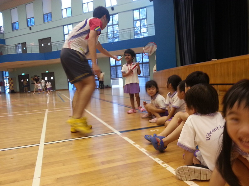 Kids Holiday Badminton Camp 2013