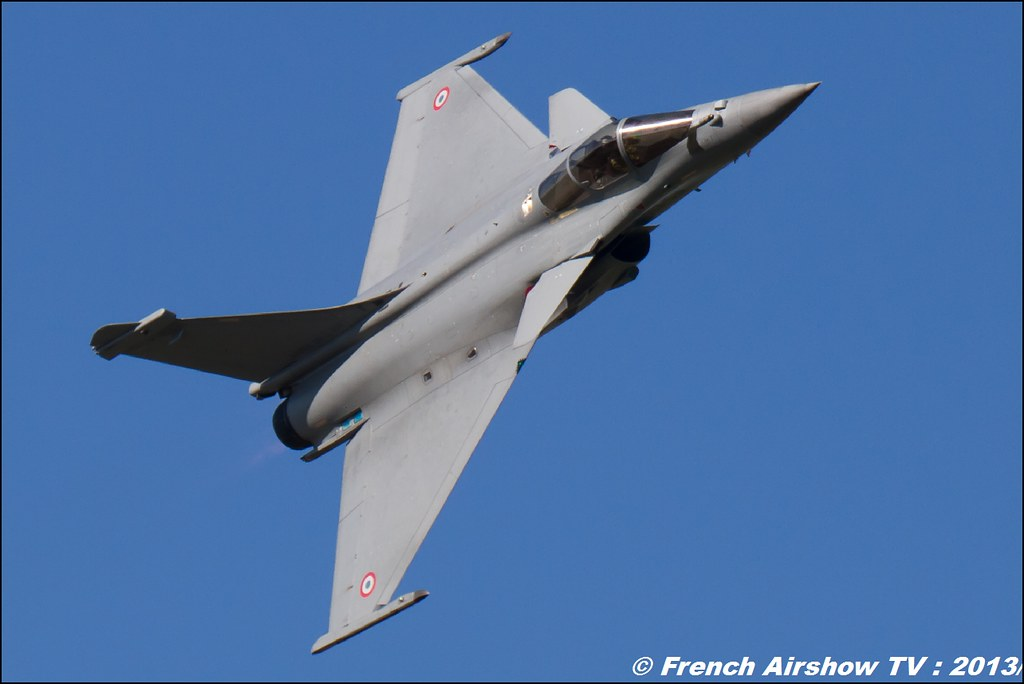 Rafale Solo Display Tao, 60 ans Patrouille de France , Meeting Aerien 2013