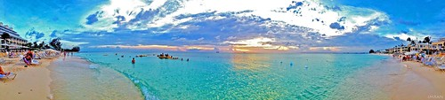 ocean travel blue vacation sky panorama holiday beach clouds islands sand caribbean 4thofjuly imran iphone