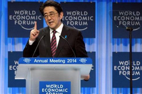 Thủ tướng Nhật Shinzo Abe hối thúc châu Á kiềm chế quân sự