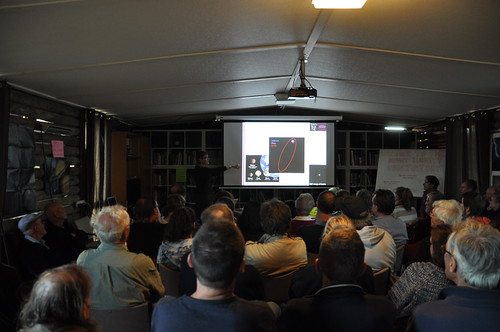 Prof. Sarah Maddison from Swinburne University talks about what is a planet at Mount Burnett Observatory Open Day 2014