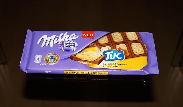 Milka Tuc Verpackung