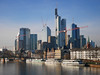 Skyline, Frankfurt am Main, Germany by Ferry Vermeer