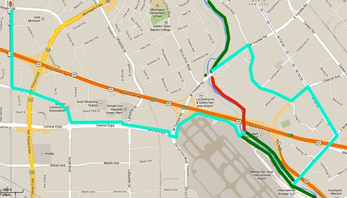 Guadalupe River Trail closure and detour