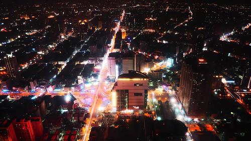 longexposure night landscape nightscape taiwan olympus kaohsiung 高雄 夜景 em1 85大樓 viewdeck 85skytower 觀景臺 1240mmf28