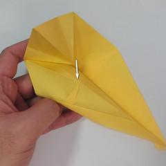 สอนวิธีพับกระดาษเป็นรูปลูกสุนัขยืนสองขา แบบของพอล ฟราสโก้ (Down Boy Dog Origami) 059