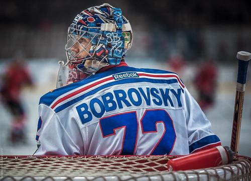 Sergey Bobrovsky by Andrey Chudaev