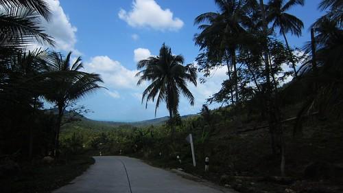 今日のサムイ島2月28日 メナムソイ1-ラマイの峠越え
