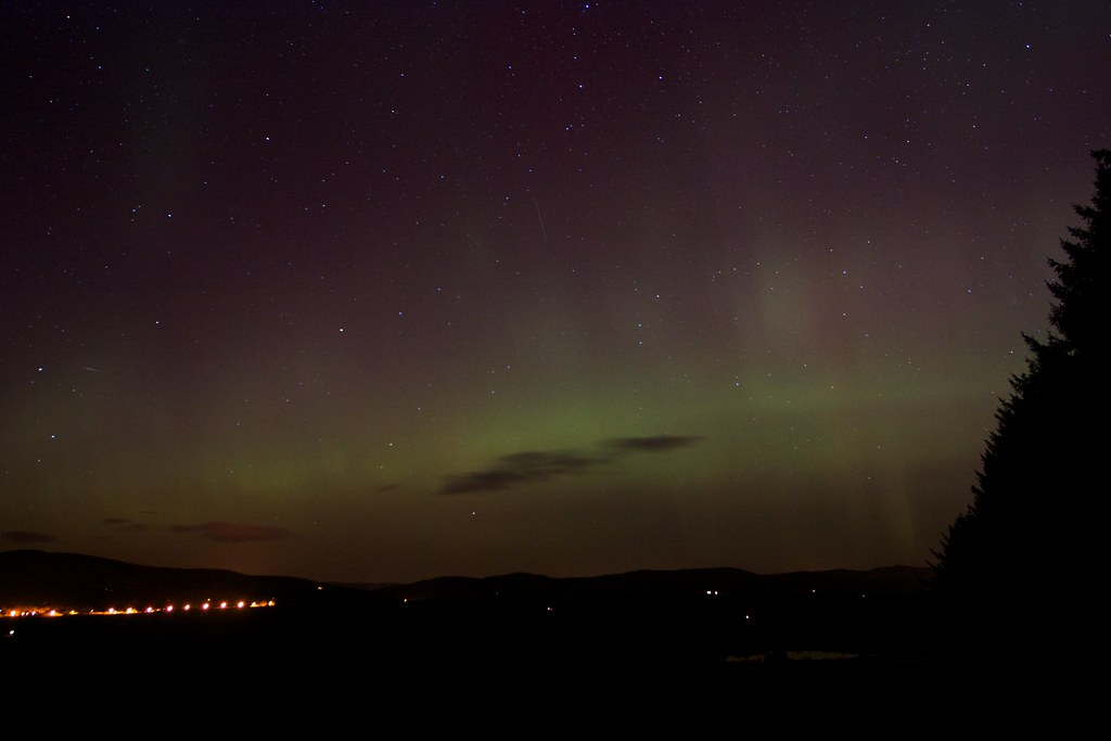 Aurora Borealis, 27th February 2014, Aberdeenshire