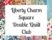 Charm square club button double