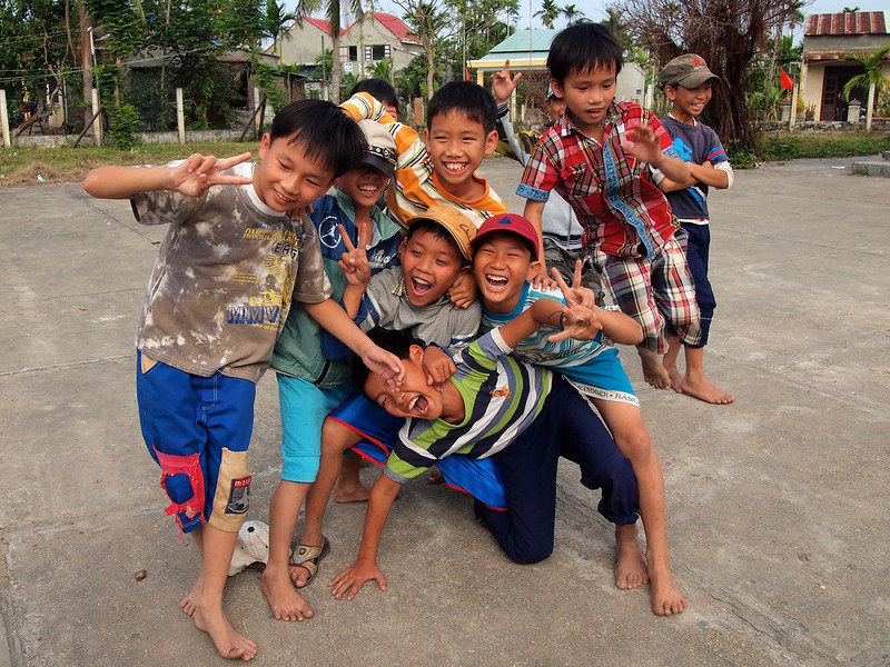 Kids in Vietnam
