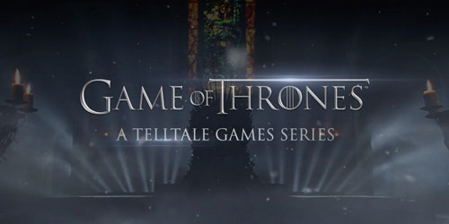 Game of Thrones game from Telltale out in December