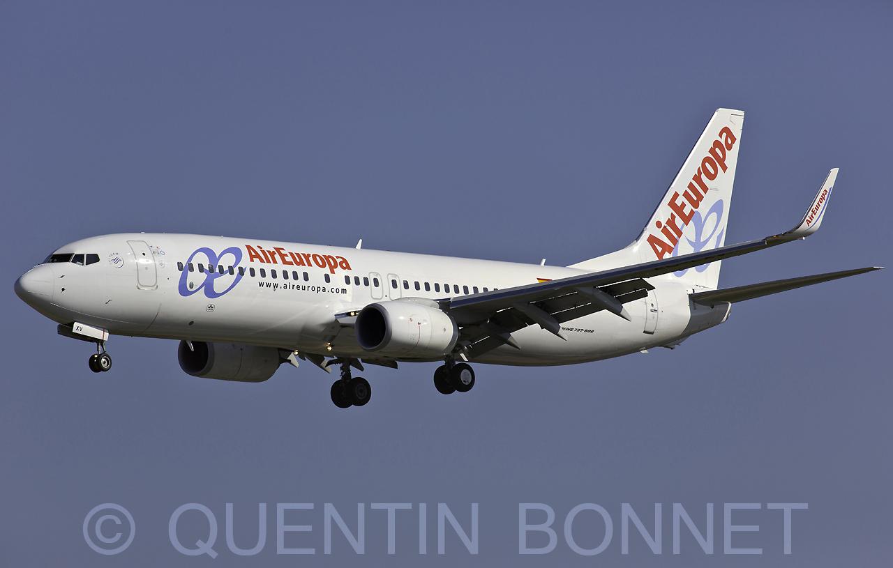 Air Europa Boeing 737-85P(WL) EC-LXV