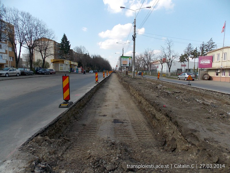 Traseul 102, etapa I: Bucla Nord ( Sp. Județean ) - Intersecție Republicii - Pagina 2 13506729334_519bc5852b_c