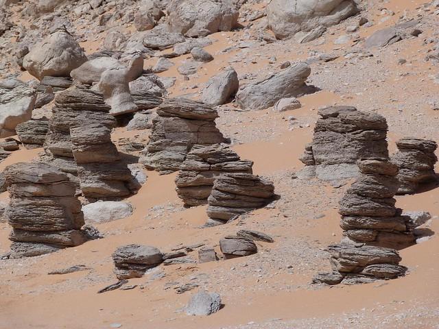 Clayton Craters (Desierto Líbico, Egipto)