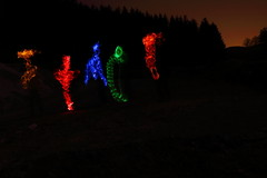 Fantômes Lightpainting