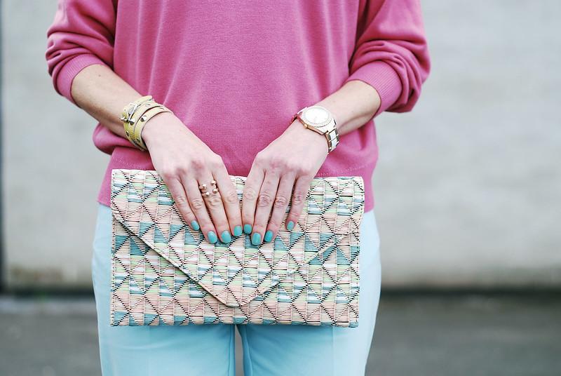 Pink, mint & blush