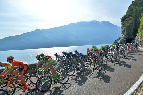 Giro del Trentino Stage2 - Limone sul Garda - San Giacomo di Brentonico, 164,5 km (22.04.2014)